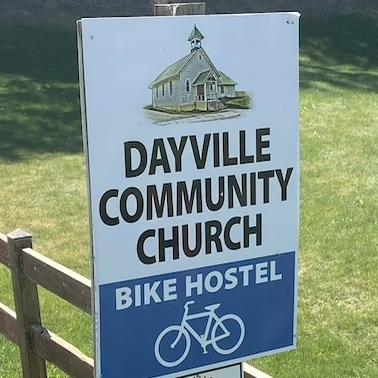 Biking to Oregon: Day 21 - A Night in the Church